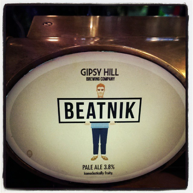 New New New beer on tap! #Gipsyhill